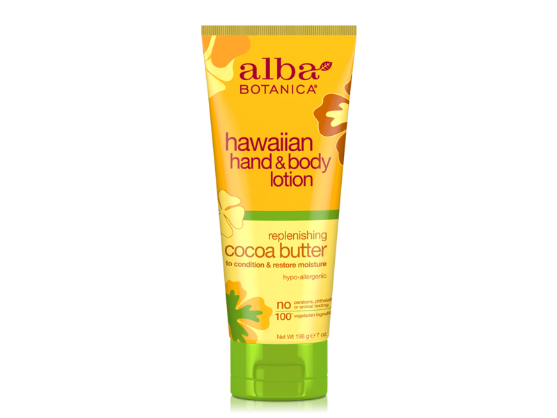 Alba Botanica Hawaiian Hand & Body Lotion Replenishing Cocoa Butter
