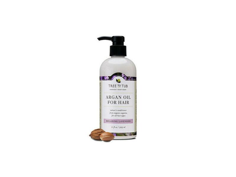 Tree To Tub Argan Oil For Hair, Relaxing Lavender, 8.5 fl oz/250 mL