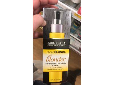 John Frieda Sheer Blonde Go Blonder Controlled Lightening Spray, 3.5 oz - Image 3