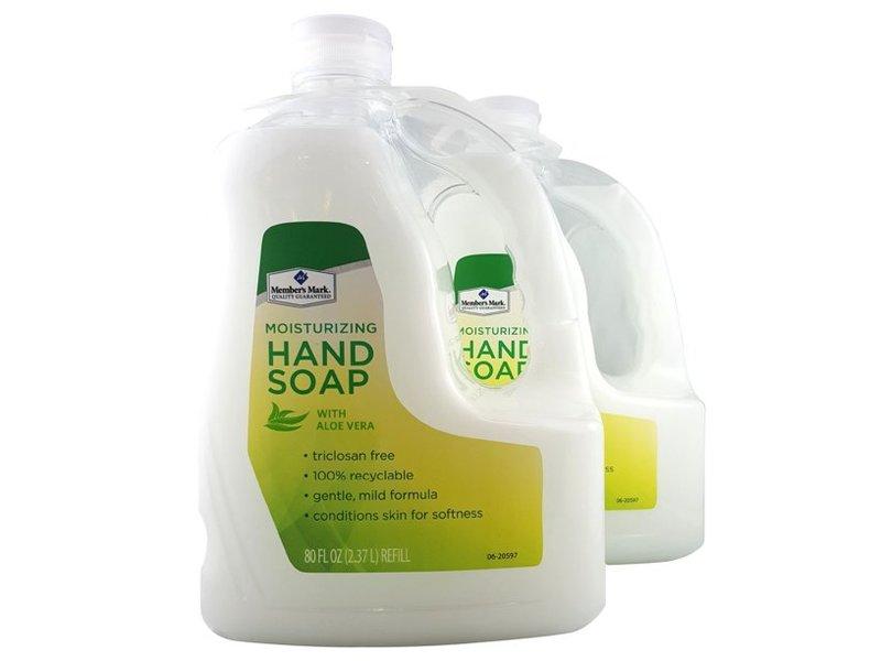 Member's Mark Moisturizing Hand Soap, 80 fl oz