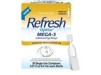 Refresh Optive Mega-3 Lubricant Eye Drops, 30 Single - Image 2