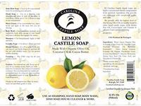 Carolina Castile Soap Liquid Lemon - 32 oz - Image 5