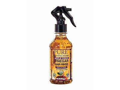 Hollywood Beauty Pure Organic Apple Cider Vinegar Hair Rinse, 8 fl oz