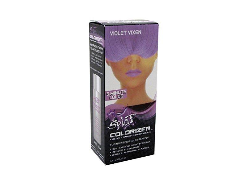 Splat Colorizer Color Toning Conditioner, Violet Vixen, 6oz