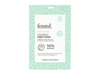 Found Brightening Coconut Sheet Mask, 1 Mask - Image 2