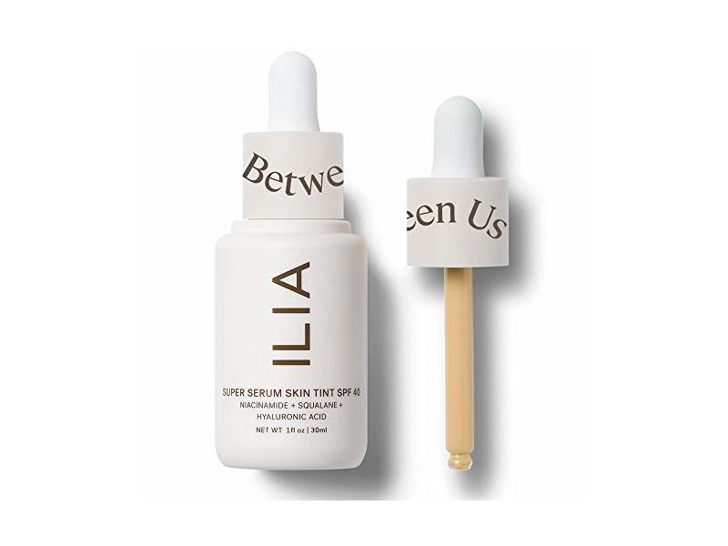 Ilia Super Serum Skin Tint, SPF 40, Sombrio St 2.5, 1 fl oz/30 mL