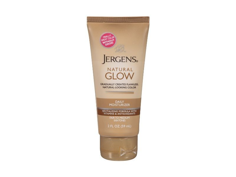 Jergens Natural Glow Revitalizing Daily Body Moisturizer, Fair to Med, 2 oz