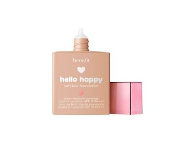Benefit Cosmetics Hello Happy Soft Blur Foundation, Shade 5, 1 oz