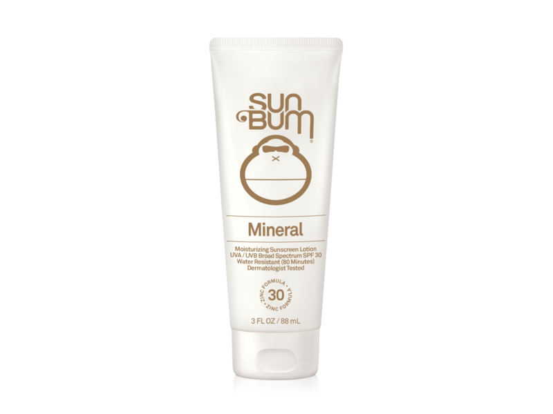 Sun Bum Mineral SPF30 Sunscreen Lotion, 3 fl oz/88 mL