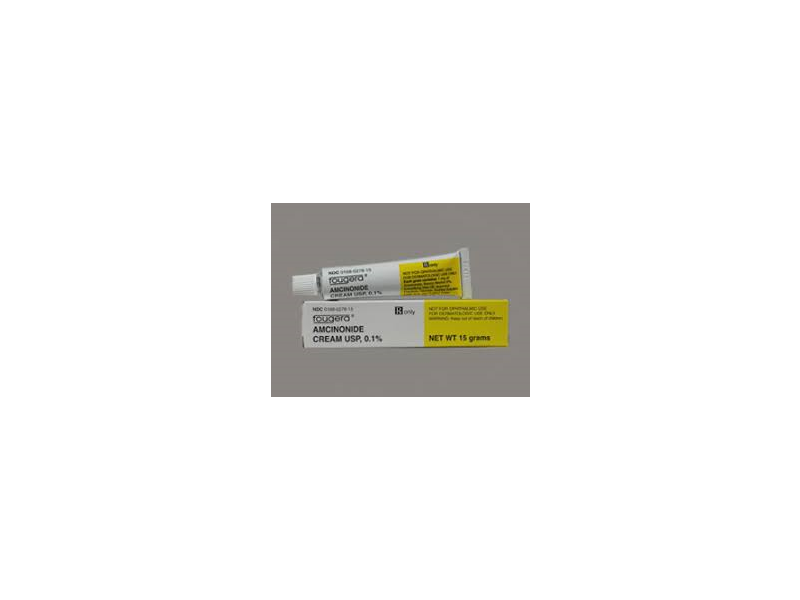 Amcinonide Cream 0.1% (RX) 15 Grams, Fougera