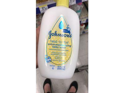 Johnson's Head-to-Toe Extra Moisturizing Baby Wash, 15 Fl. Oz - Image 8