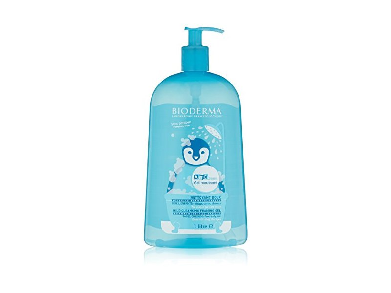 Bioderma ABCDerm Foaming Gel, 33.8 fl oz
