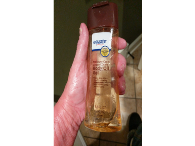 Equate Moisture Care Cocoa Divine Body Oil Gel, 6 8 oz Ingredients