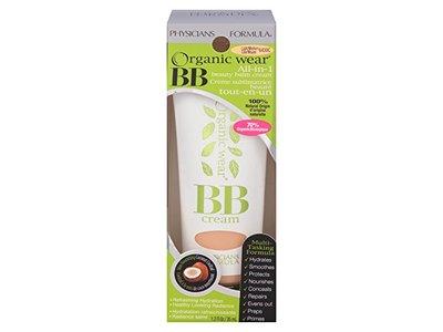 Physicians Formula Organic Wear 100% Natural Origin BB Beauty Balm Cream, Light/Medium, 1.2 Fluid Ounce - Image 8