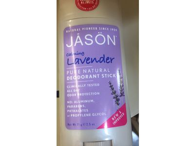 Jason Natural Products Deodorant Stick, Lavender, 2.5 Oz - Image 3