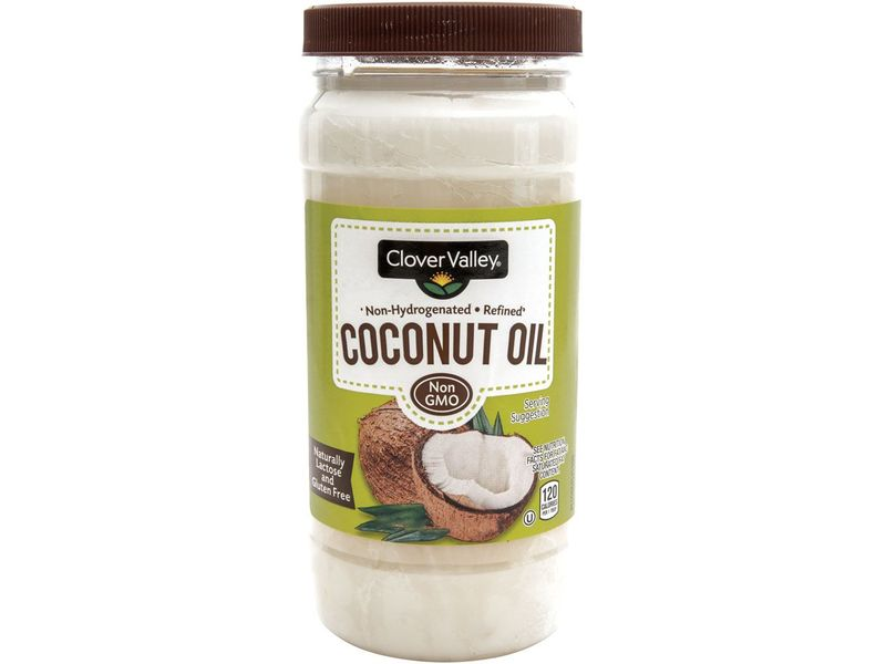 Clover Valley Coconut Oil, 15 fl oz