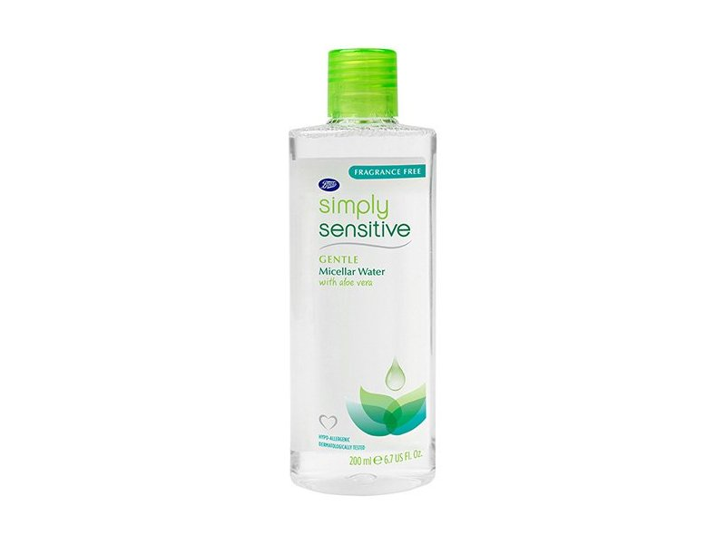 Boots Simply Sensitive Gentle Micellar Water, 6.7 oz