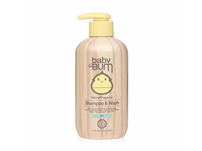 Baby Bum Natural Fragrance Shampoo & Wash Gel, 12 fl oz