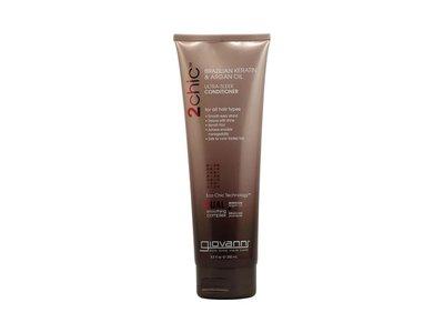 Giovanni 2chic Ultra-Sleek Conditioner Brazilian Keratin & Argan Oil, 8.5 oz