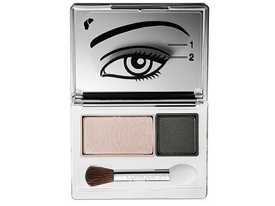 Clinique All About Shadow Duo, Neutral Territory, 0.07 oz