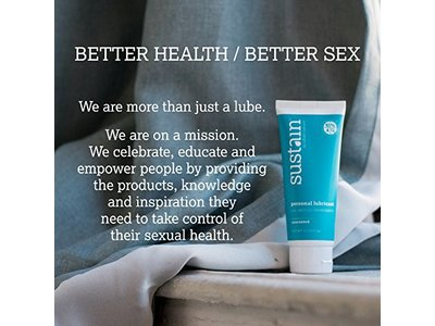 Sustain Natural Personal Lubricant Unscented - Image 3
