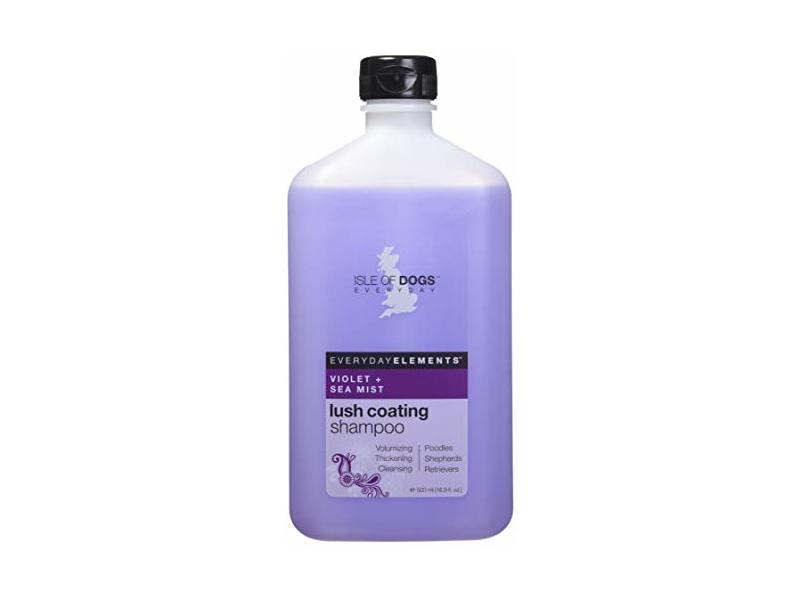Everyday Isle of Dogs Lush Coating Dog Shampoo, Violet + Sea Mist, 16.9 Ounce
