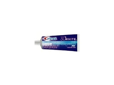 Crest 3D White Vivid Fluoride Anticavity Toothpaste, 0.85 oz - Image 1