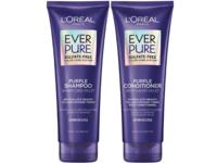 L'Oreal Paris Ever Pure Purple Shampoo & Conditioner Kit, Sulfate-Free - Image 2