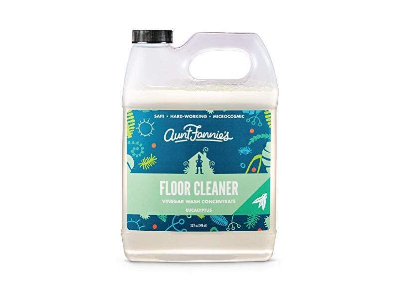 Aunt Fannies Vinegar Wash Floor Cleaner Eucalyptus, 32 oz