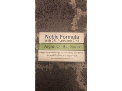 Noble Formula 2% Pyrithione Zinc (ZnP) Argan Oil Bar Soap, 3.25 oz - Image 4