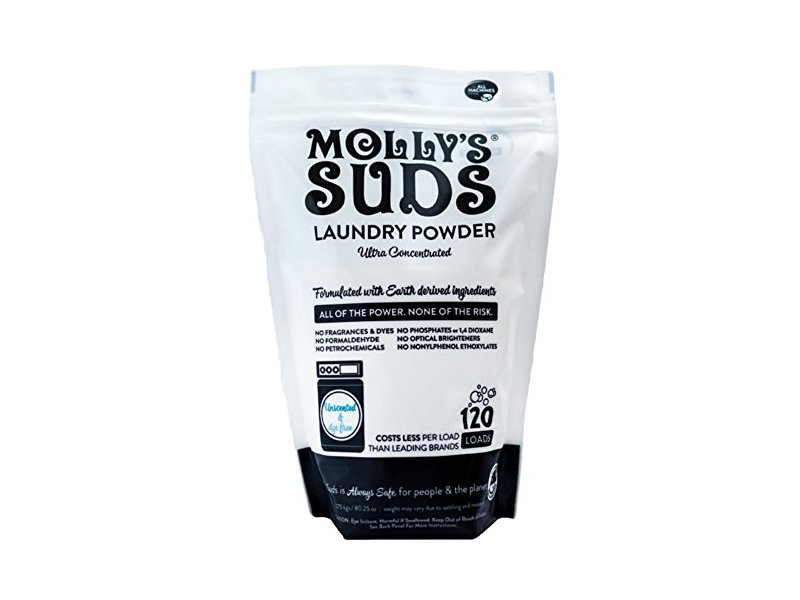 Molly's Suds Laundry Powder, Unscented, 120 Loads