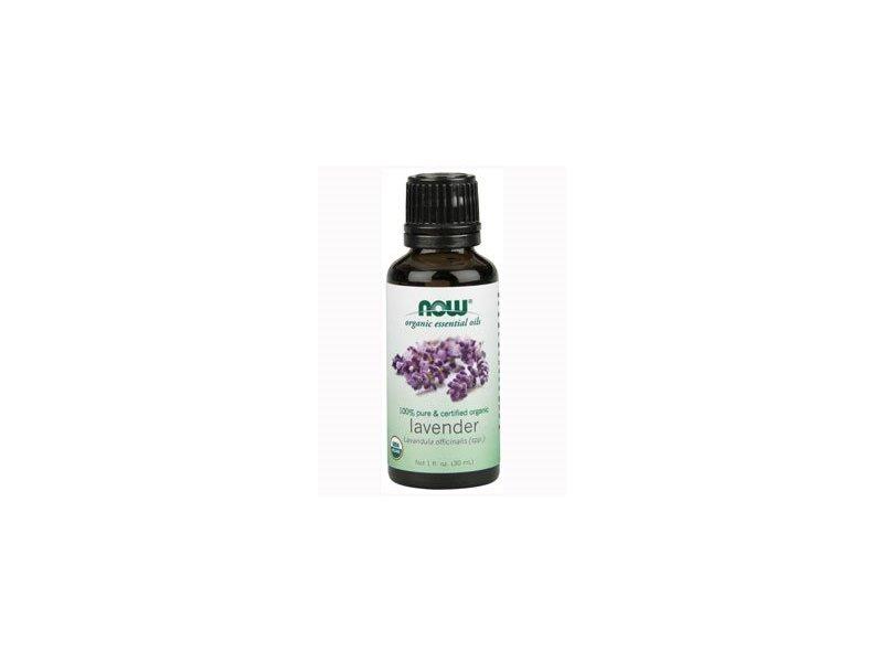 NOW Foods, Organic Lavender Oil, 1 OZ
