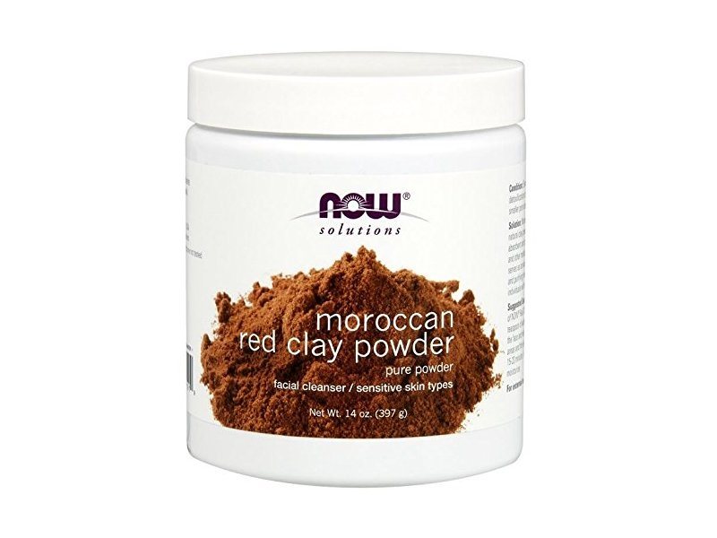Now Solutions Moroccan Red Clay Powder, 14 oz