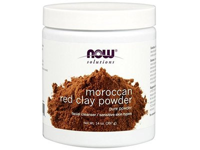 Now Solutions Moroccan Red Clay Powder, 14 oz - Image 1