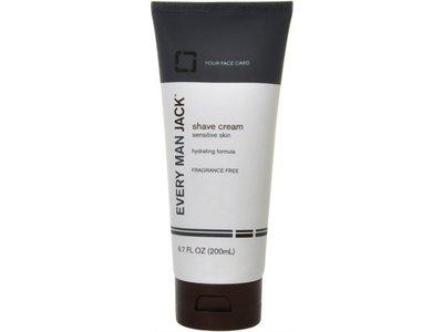 Every Man Jack Sensitive Skin Shave Cream - 6.7 oz - Image 1