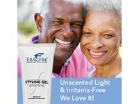 FRAGFRE Light Hold Hair Gel Fragrance-Free, 8 oz - Image 9