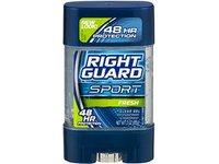 Right Guard Sport 3D Odor Defense, Antiperspirant Deodorant Clear Gel, Fresh, 3 oz (Pack of 5) - Image 2