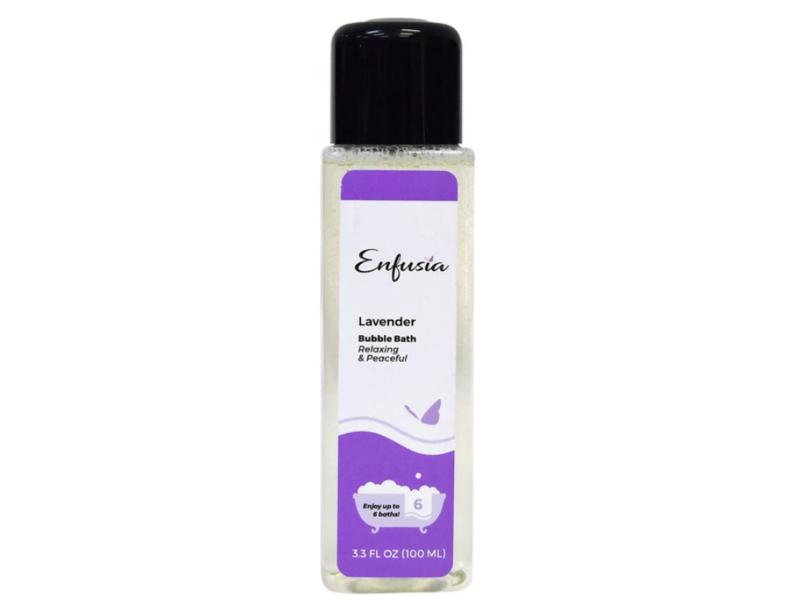 Enfusia Bubble Bath, Lavender, 3.3 fl oz / 100 ml