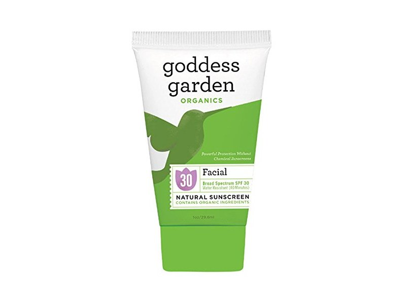 Goddess Garden, Organics, Facial, Natural Sunscreen, SPF 30, 1 oz