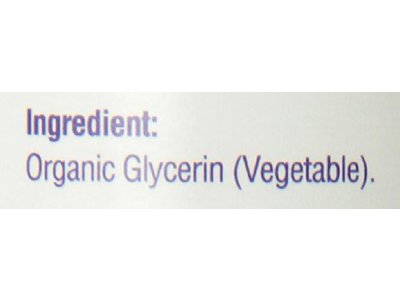 Heritage Store Vegetable Glycerin Skin Care Product, Organically Grown, 8 Ounce - Image 3
