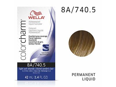 Wella Color Charm, 8A/740.5 Light Ash Blonde, 1.4 fl oz (42 mL)