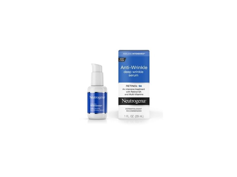 Neutrogena Ageless Intensives Anti Wrinkle Retinol Face Serum