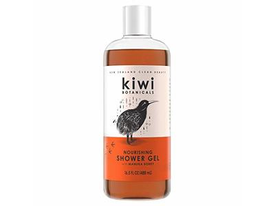 Kiwi Botanicals Nourishing Shower Gel for Women, Manuka Honey, 16.5 fl oz