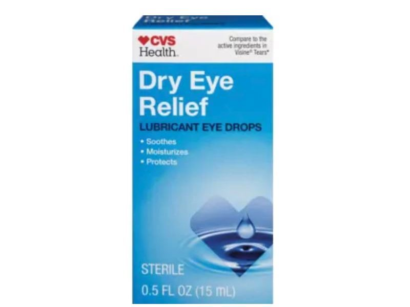 cvs health dry eye relief lubricant eye drops  0 5 fl oz ingredients and reviews