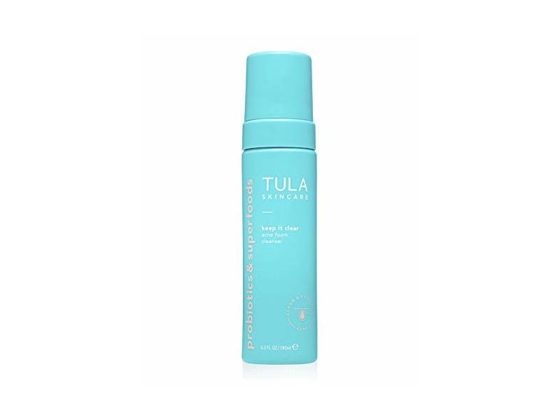 Tula Probiotic Skin Care Keep It Clear Acne Foam Cleanser, 6.3 fl oz/180 mL