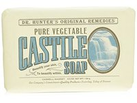 Caswell-Massey Dr. Hunter's Pure Vegetable Castile Soap Natural Bath Soaps With Shea Butter, 6.5 Ounces - Image 2
