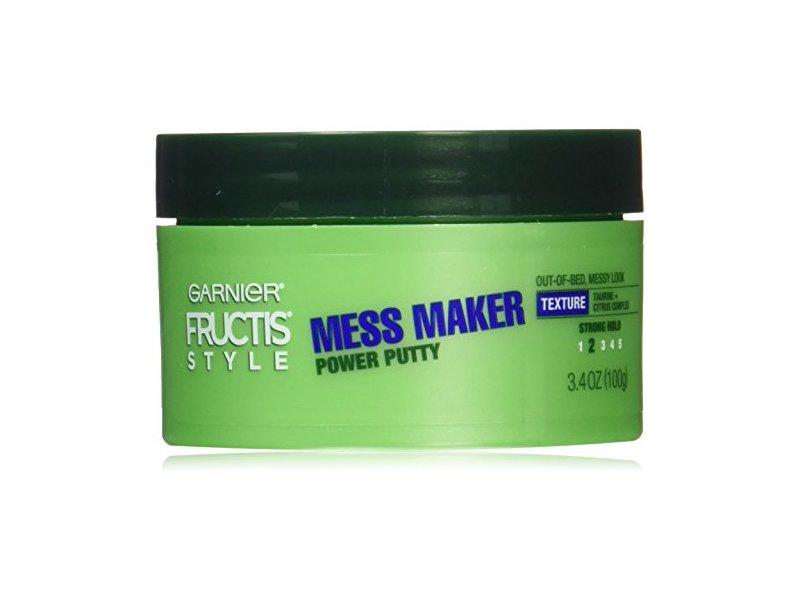 Garnier Hair Care Fructis Style Power Putty Mess Maker, 3.4 Ounce