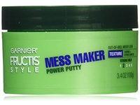 Garnier Hair Care Fructis Style Power Putty Mess Maker, 3.4 Ounce - Image 1