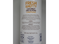 Boots Fresh & Nutty Coconut And Almond Conditioner, 500 mL/16.9 fl oz - Image 4