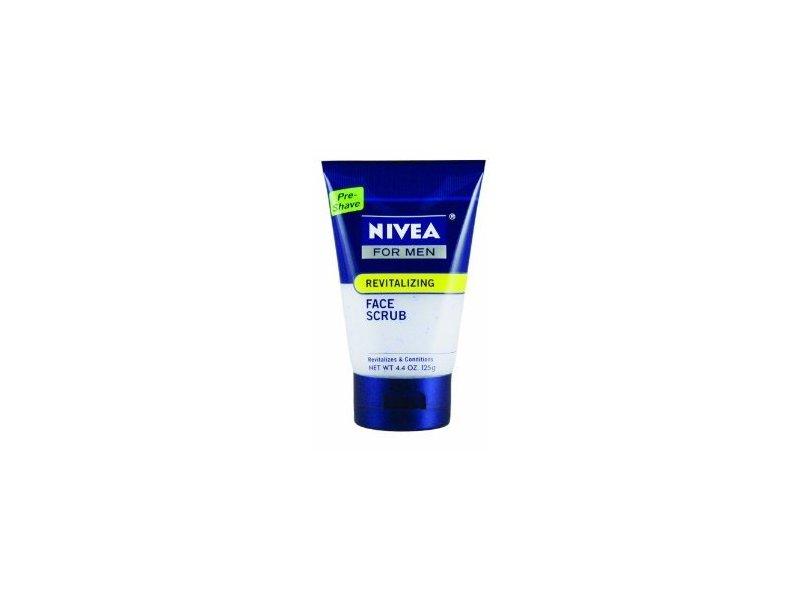Nivea for Men Revitalizing Face Scrub, 4.4-Ounce